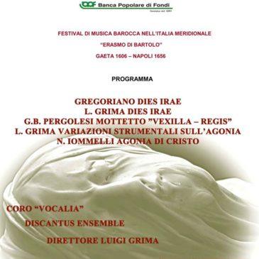 Gaeta: Festival della musica barocca – Sabato 4 Luglio 2015