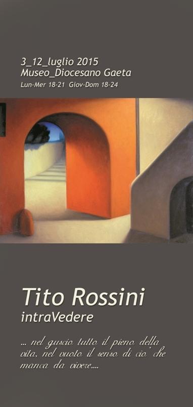 Locandina Mostra Tito Rossini