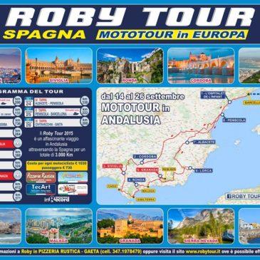 Roby Tour Europa 2015: Spagna