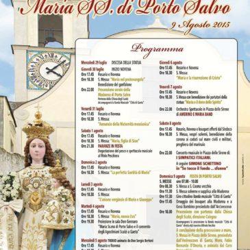 Gaeta: Festeggiamenti di Maria Ss. Di Porto Salvo – Programma completo