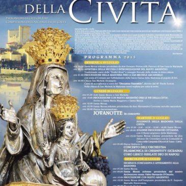 Solenni festeggiamenti Maria SS della Civita