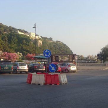 Gaeta: istituita rotatoria in zona Serapo in attesa del progetto di Restyling