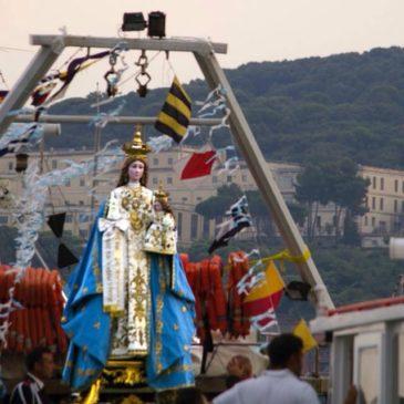Gaeta: processione in mare della Madonna Nostra – FOTOGALLERY di Giuseppe Ciaramaglia