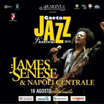 Jazz al Castello 2015: Questa sera 16 Agosto – James Senese & Napoli Centrale