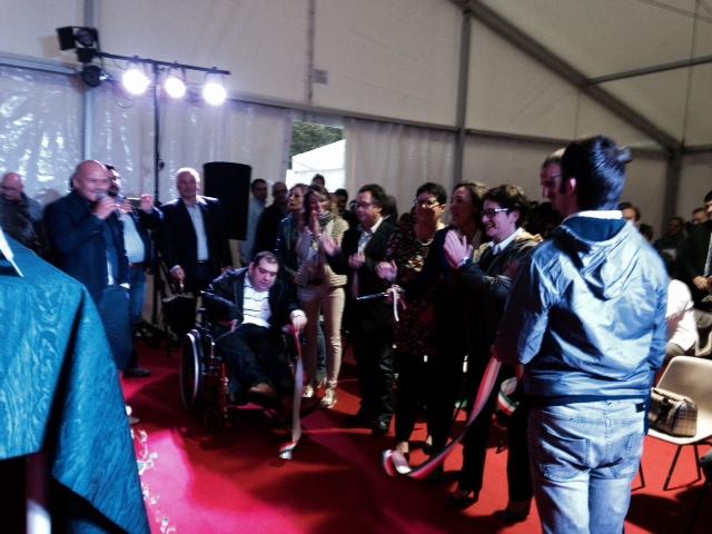 Foto inaugurazione Ali Festival