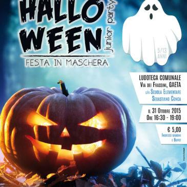 Gaeta: MEGA Festa di Halloween alla Ludoteca Comunale