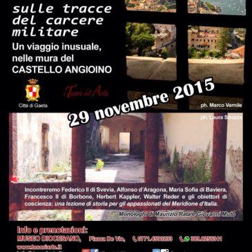 Gaeta: visita il Castello Angioino anche a novembre!