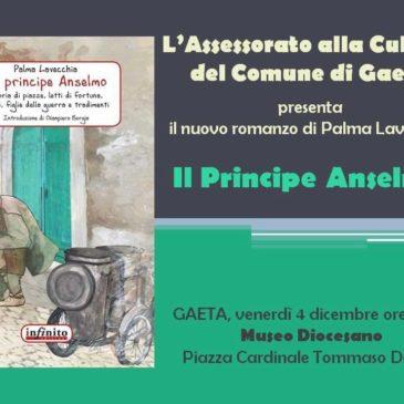 Gaeta: presentazione del nuovo libro di Palma Lavecchia