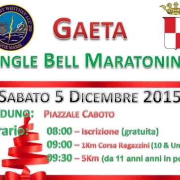 Jingle Bell Race: Gaeta e Comunità USA insieme nella maratonina di Natale – iscrizione gratuita
