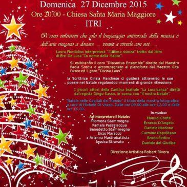 """""""Natale…… in concerto"""": Chiesa di Santa Maria Maggiore – Itri"""
