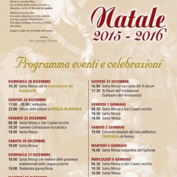 Gaeta: Natale nella parrocchia dei Santi Cosma e Damiano