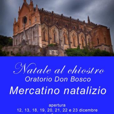 Gaeta: Natale al Chiostro con Mercatino Natalizio presso l'Oratorio Don Bosco