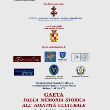 Gaeta: Dalla Memoria storica all'identità culturale