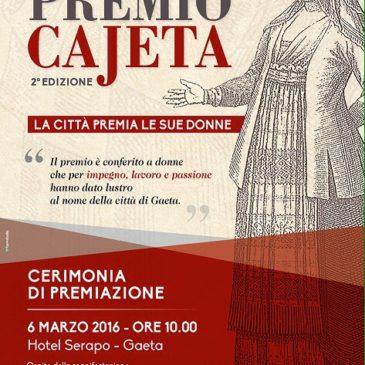 Premio Cajeta Seconda edizione: Ecco i nomi delle donne omaggiate