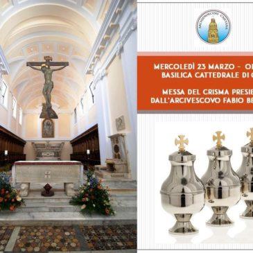 """Gaeta: """"Messa del crisma"""" – 23 Marzo 2016"""