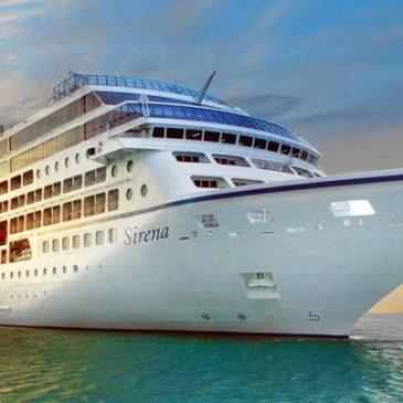 Nave da crociera Sirena – Oceania Cruises, il 21 maggio 2016 a Gaeta