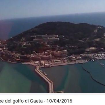 *Nuovo Video* Stupenda ripresa di Gaeta dall'elicottero della Protezione Civile