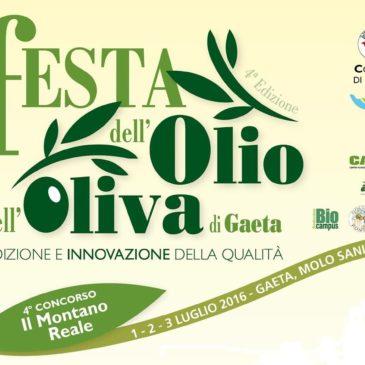 Gaeta: 4^ edizione della 'Festa dell'Olio e dell'Oliva di Gaeta / Ecco le date 2016