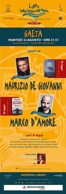 Libri sulla Cresta dell'Onda presenta I colori di Napoli / Incontro con Maurizio de Giovanni e Marco D'Amore
