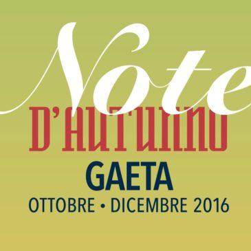 """A Gaeta torna la musica classica con la rassegna """"Note d'Autunno"""" – Programma"""