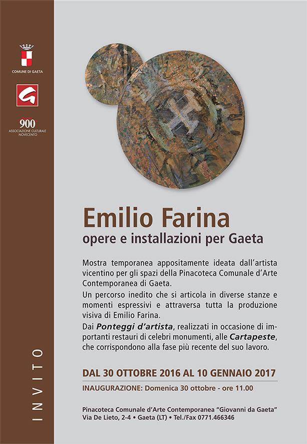 invito Emilio_Farina_Pinacoteca