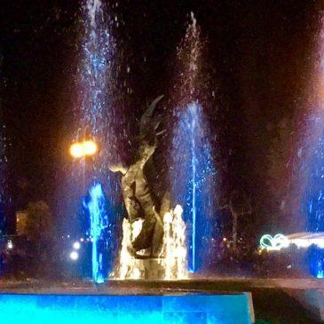 Gaeta: Anche oggi ci sarà lo spettacolo della fontana e l'accensione delle luminarie. Ecco tutte le info