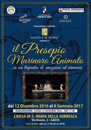 Natale: mostra dei presepi nelle chiese di Gaeta