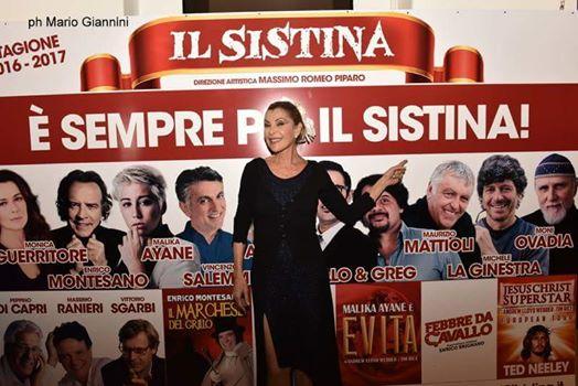 Grande successo per Fatima Scialdone al Sistina di Roma