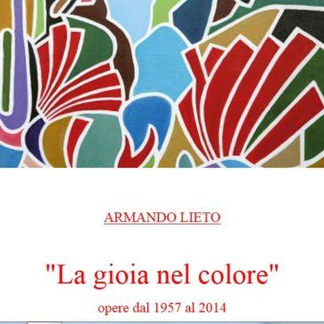 """Pinacoteca Comunale di Gaeta: Inaugurazione mostra """"La Gioia nel Colore"""" Armando Lieto"""