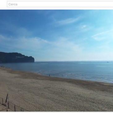 *VIDEO* In volo con il drone sulla spiaggia di Serapo a Gaeta