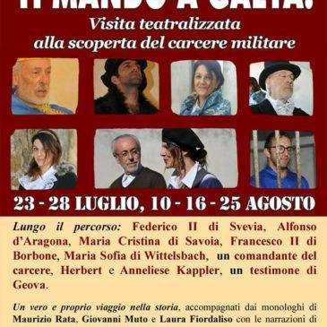 Visita al Castello di Gaeta: Ecco il programma estate 2017 con visite teatralizzate