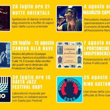 """Decima edizione della """"Nave di Sera"""": Ecco il programma 2017"""