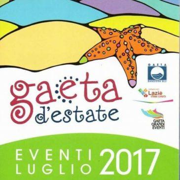 """Gaeta """"Eventi d'estate"""", luglio 2017"""