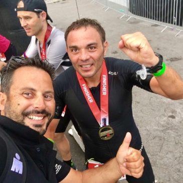 Il campione della Poligolfo Marciano Erasmo diventa un Ironman e conquista AWA Status Bronze