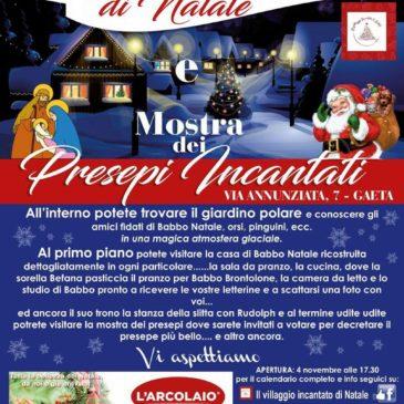 Il Villaggio Incantato di Natale è a Via Annunziata a Gaeta Medievale