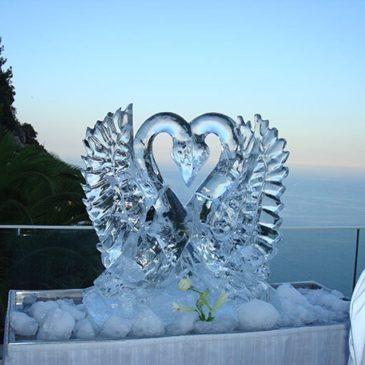 Gaeta: ultima settimana delle Luminarie tra le sculture di ghiaccio