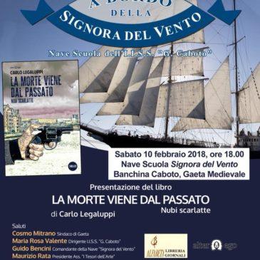 """""""A bordo della Signora del Vento"""": incontro con lo scrittore Carlo Legaluppi"""