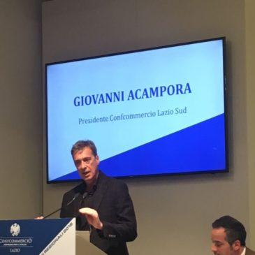 Giovanni Acampora alla guida di Confcommercio Lazio