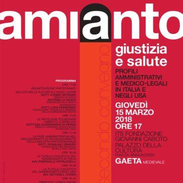 Amianto: Convegno su danni e risarcimenti – Giovedi 15 Marzo a Gaeta