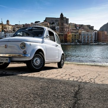 #ADayIn500 – La FotoGallery del Backstage – Il Video di Gaeta in Fiat 500