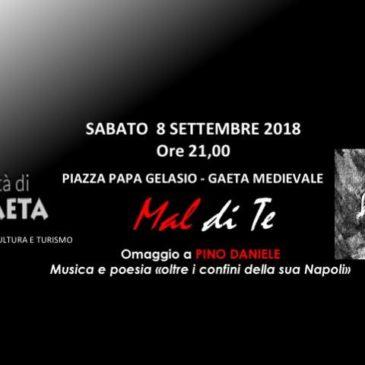 """""""Musica e Poesia oltre i confini della sua Napoli"""" Omaggio a Pino Daniele"""