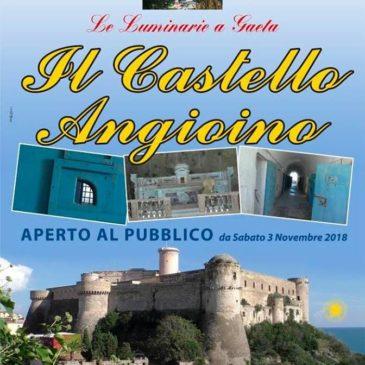 Le Luminarie di Gaeta al Castello Angioino: Apertura da Sabato 3 Novembre 2018