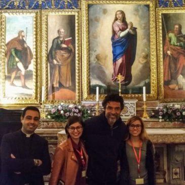 """Alessandro Gassmann visita la Cappella d'Oro: """"Sono senza parole…"""""""
