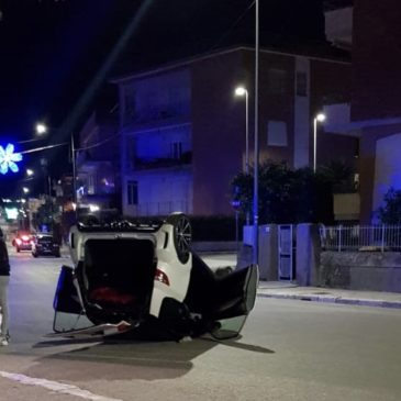 Gaeta: si ribalta con la Mini Car