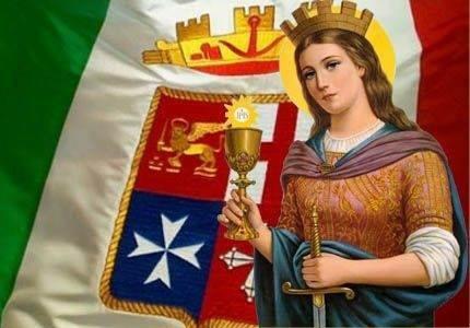 Gaeta: Festa di Santa Barbara – Patrona della Marina Militare –
