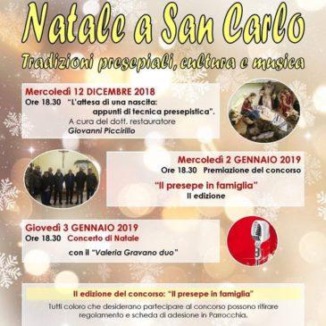 Natale a San Carlo: Tutti gli eventi