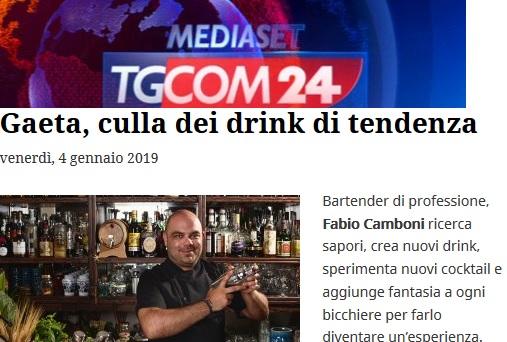 Gaeta, Culla dei Drink di Tendenza: Lo dice TGCOM24 in un articolo di oggi