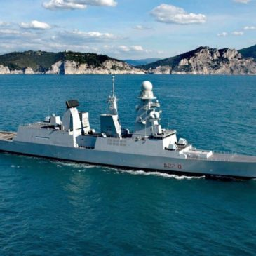 Visita la Nave Militare Caio Duilio