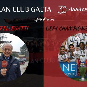 Galà del Milan: Carlo Pellegatti a Gaeta