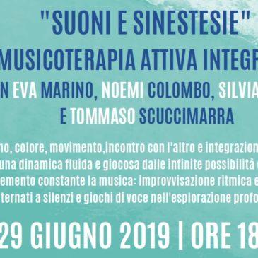 """""""Aspettando… Suonidamare"""" il 1° Festival di Musicoterapia Integrata"""